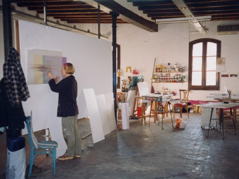 Studio view, Palo Alto, Barcelona, 2001