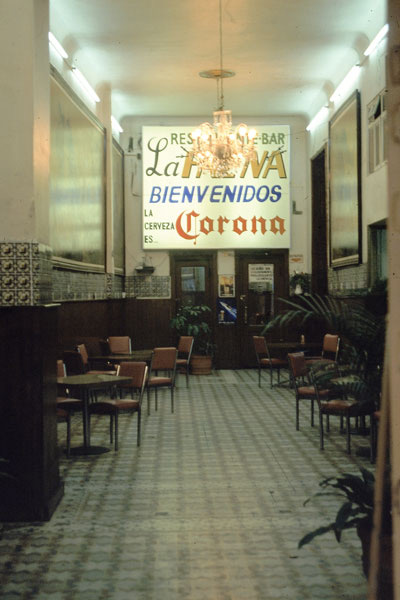 La Faena - infamous! the best bar in DF at the time & Jesse's favorite place