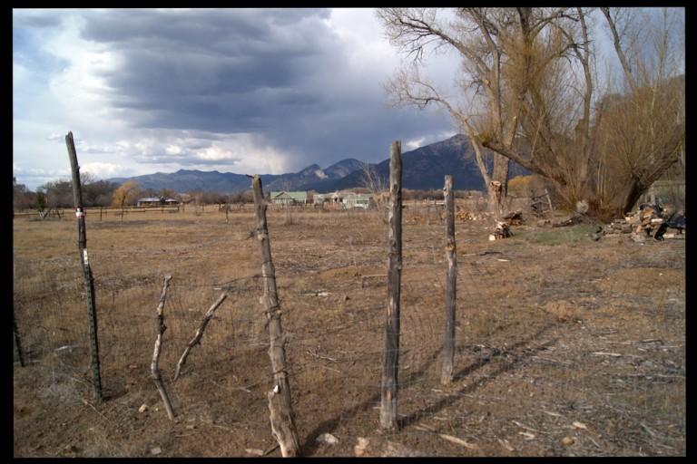fence - Sunset Park, Taos