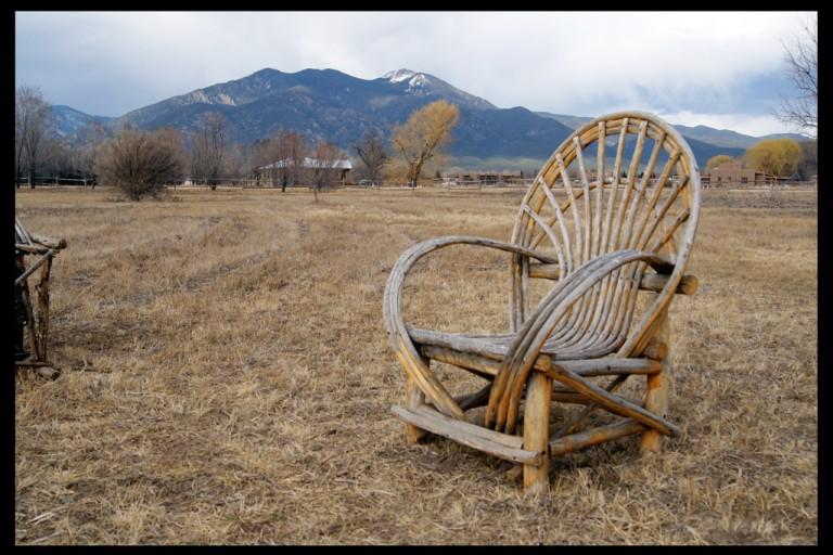 chair - Sunset Park, Taos