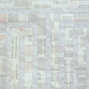 The 48 Laws of Power: 1-25 - wall size collage made of Robert Greene's bestselling book - artwork by Michelle Rumney