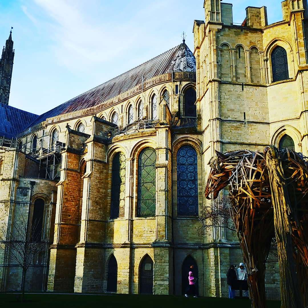 Canterbury Cathedral on 29 December 2019 St Thomas martyrdom