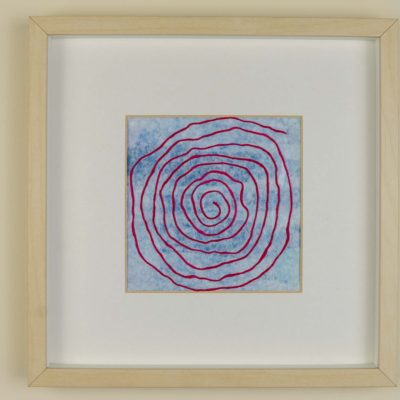 Little Labyrinth #401 pink spiral