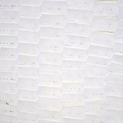 '48k' (detail), installation view, adhesive labels on wall, 622 x 244 x 5cm, 2002