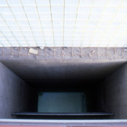 'From Here to There', cigarette ends on window ledge, Can Felipa, Barcelona, 2002