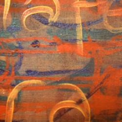 'Oracion' (detail), oil on canvas, 183 x 183cm, 1995