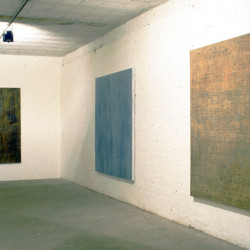 '9X' exhibition view, The Tannery Gallery, London, 1996