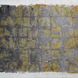 'Mesa iX', ink layers & sunlight on tissue paper, 20 x 17cm, 1994