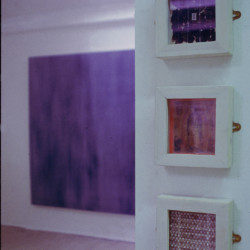 BA Degree Show, exhibition view, University of Plymouth, Exeter, 1996